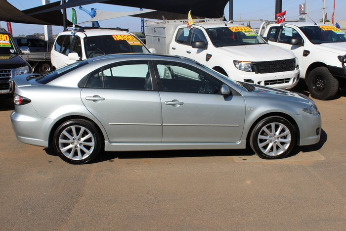 2005 Mazda 6 Luxury Sports GG Series 2 Silver