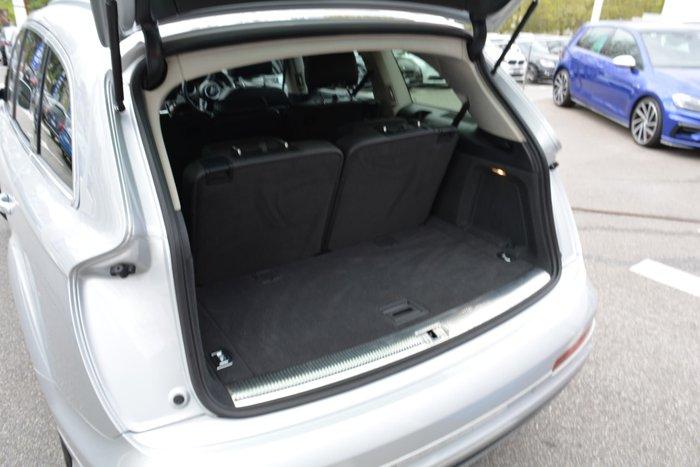 2012 Audi Q7 TDI MY12 Four Wheel Drive Silver