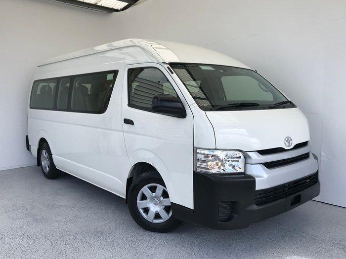 2016 Toyota Hiace Commuter TRH223R White