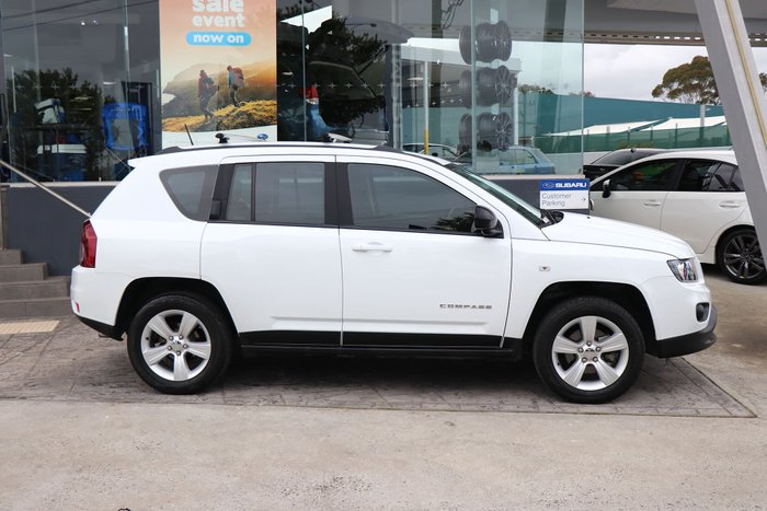 2016 Jeep Compass Sport MK MY16 White