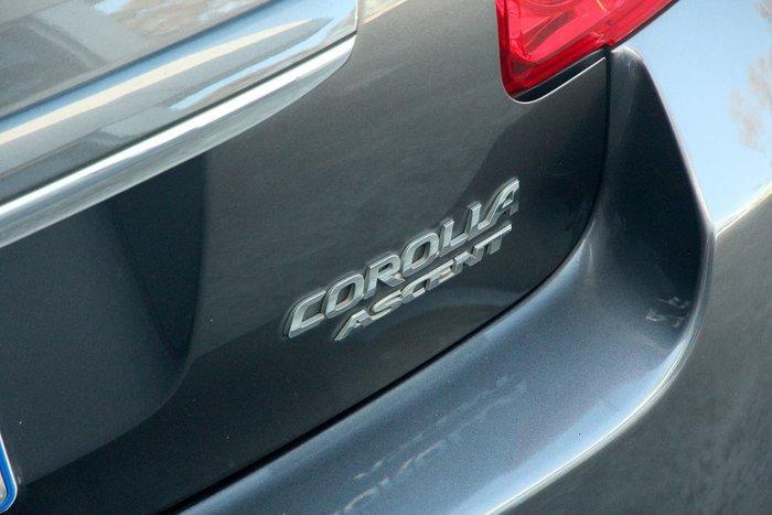 2009 Toyota Corolla Ascent ZRE152R Grey