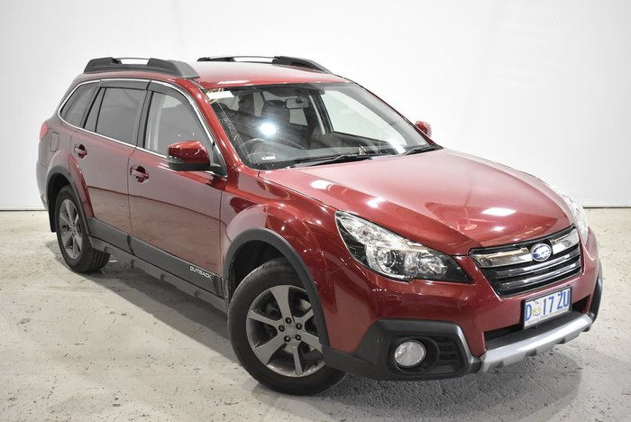 2014 Subaru Outback 2.5i 4GEN MY14 Four Wheel Drive Red
