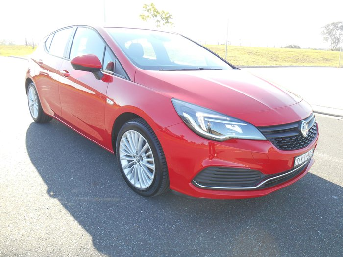 2017 Holden Astra R BK MY17 Red