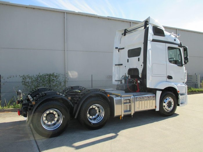 2019 MERCEDES-BENZ 2653 ACTROS 2653LS 2.3M STREAM null null White