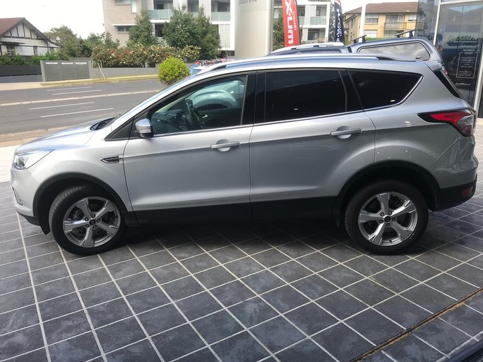 2018 Ford Escape Trend ZG MY19.25 Silver