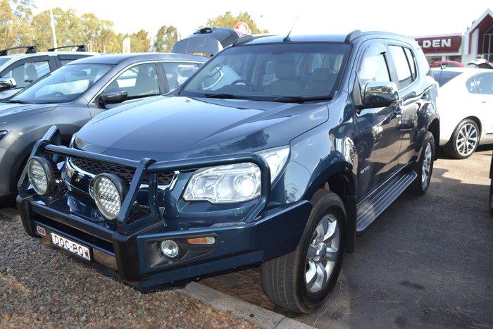 2014 Holden Colorado 7 LTZ RG MY14 4X4 Dual Range Blue