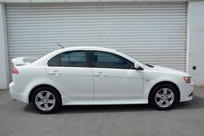 2013 Mitsubishi Lancer ES CJ MY14 White
