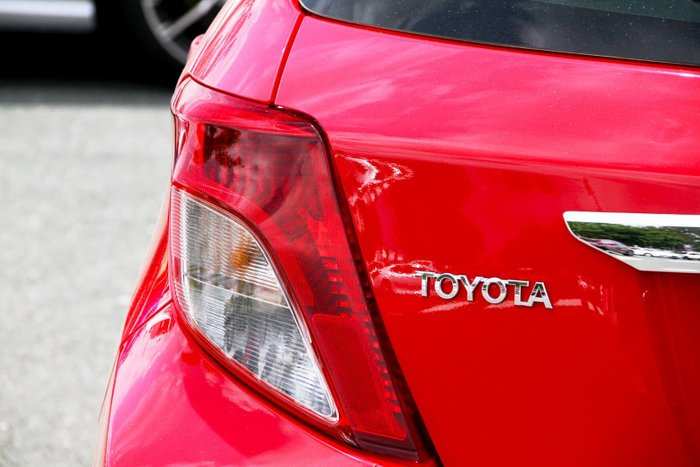 2014 Toyota Yaris YR NCP130R Red
