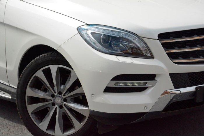 2013 Mercedes-Benz M-Class ML350 BlueTEC W166 4X4 Constant White