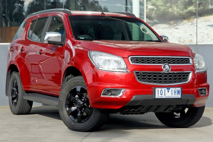 2015 Holden Colorado 7 LTZ RG MY15 4X4 Dual Range Red