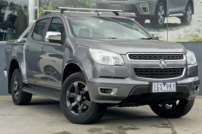 2015 Holden Colorado LTZ RG MY15 4X4 Dual Range Grey