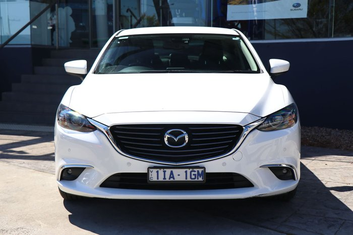 2016 Mazda 6 Touring GL Series White