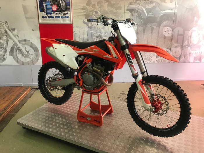 0 Ktm 2018 KTM 250CC 250SX-F ORANGE