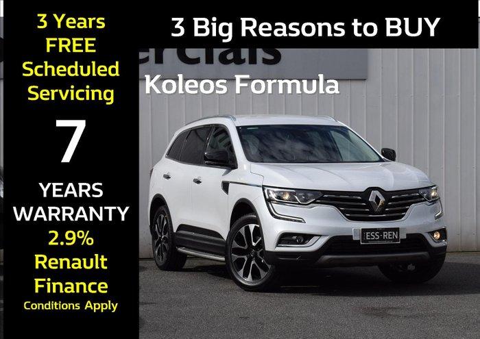 2019 Renault Koleos Formula Edition HZG White