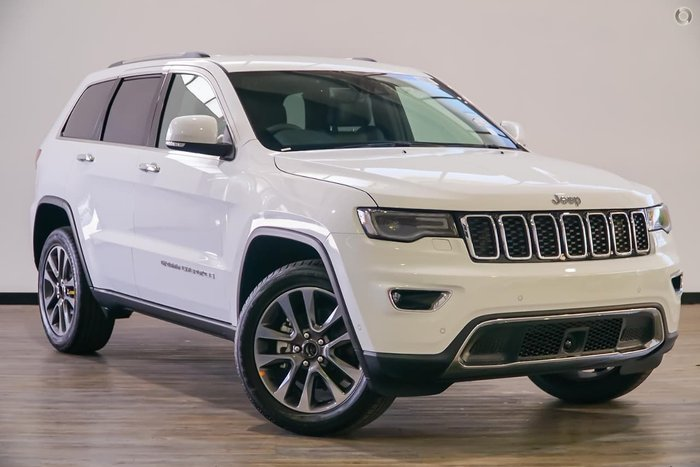 2017 Jeep Grand Cherokee Limited WK MY17 4X4 Dual Range White