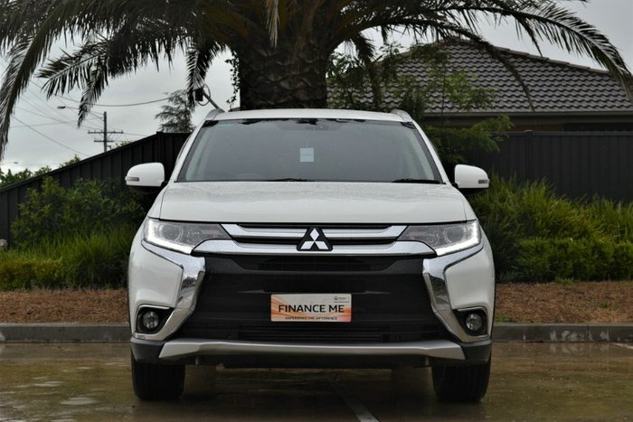 2015 Mitsubishi Outlander XLS ZK MY16 4X4 On Demand SOLID WHITE