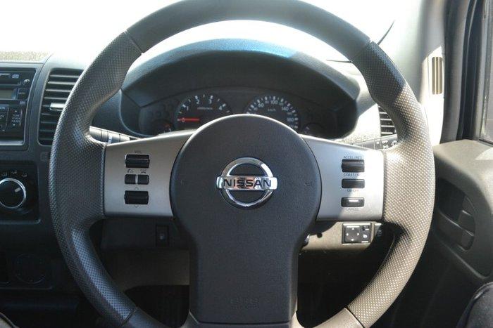 2014 Nissan Navara RX D40 Series 8 WHITE