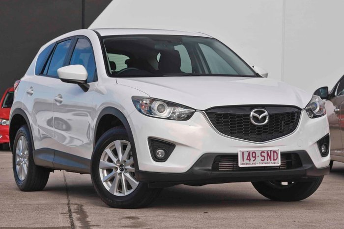 2012 Mazda CX-5 Maxx Sport KE Series Four Wheel Drive White