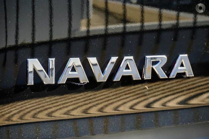 2018 Nissan Navara ST D23 Series 3 4X4 Dual Range Black