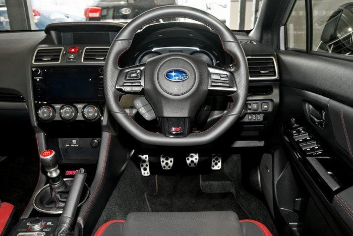 2018 Subaru WRX STI Premium V1 MY19 Four Wheel Drive Silver
