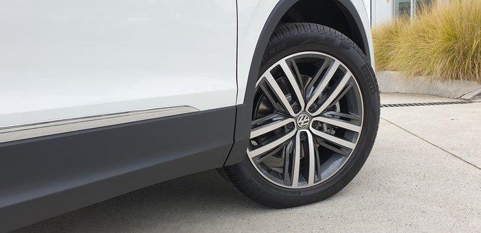 2019 Volkswagen Tiguan 162TSI Highline 5N MY19.5 Four Wheel Drive White