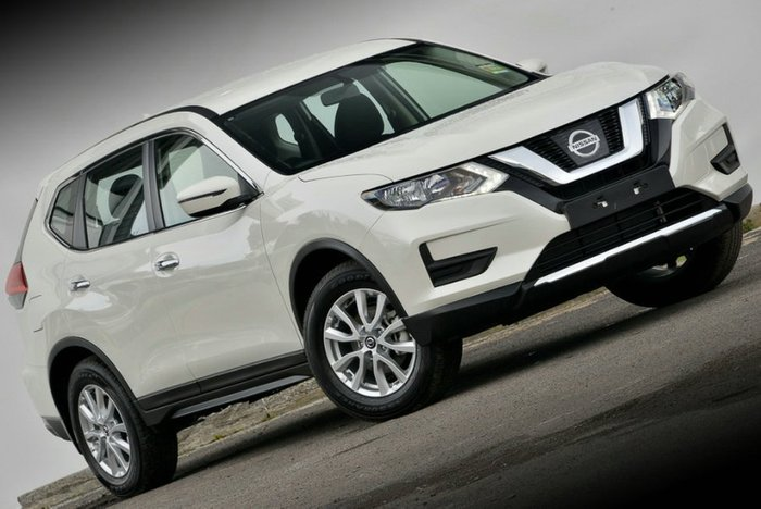 2018 Nissan X-TRAIL ST T32 Series II 4X4 On Demand IVORY PEARL