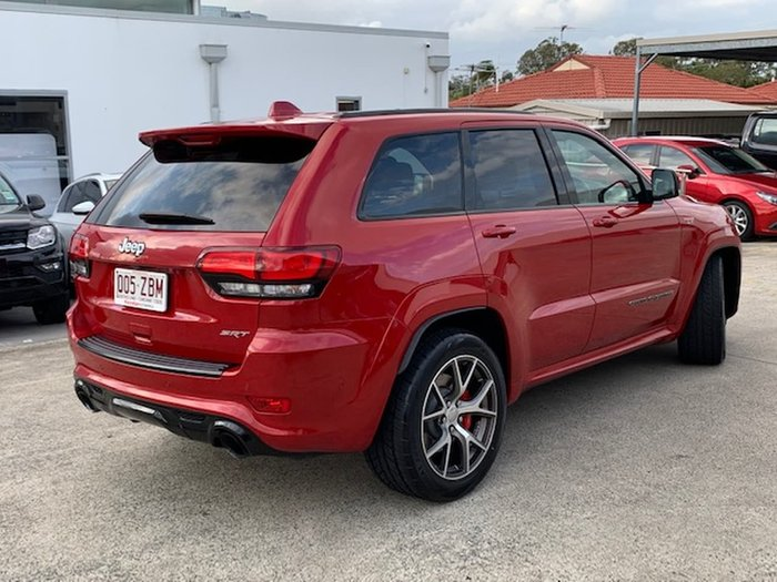2017 Jeep Grand Cherokee SRT WK MY17 4X4 On Demand Red