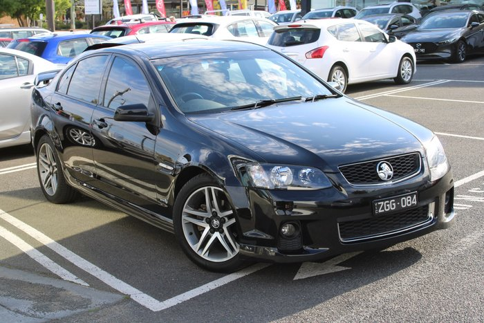 2012 Holden Commodore SV6 Z Series VE Series II MY12.5 Black