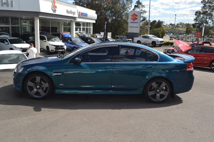 2012 Holden Commodore SV6 Z Series VE Series II MY12.5 Green