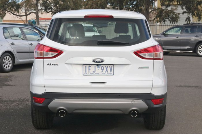 2015 Ford Kuga Ambiente TF MkII MY15 White