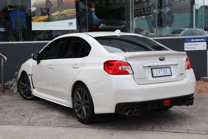 2016 Subaru WRX V1 MY17 Four Wheel Drive White