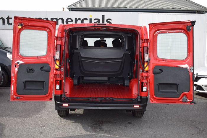 2019 Renault Trafic Crew Lifestyle X82 Red