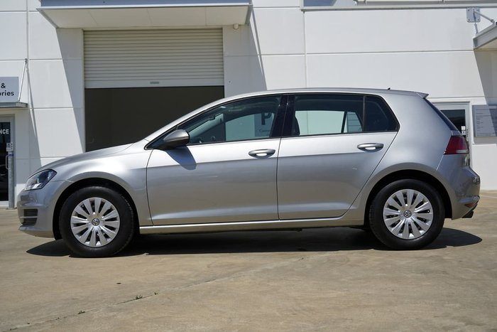 2017 Volkswagen Golf 92TSI 7 MY17 SILVER OR CHROME