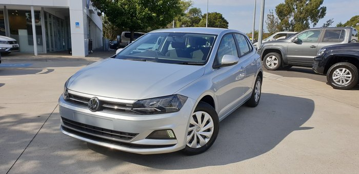 2019 Volkswagen Polo 70TSI Trendline AW MY19 Silver