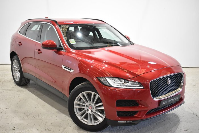 2017 Jaguar F-PACE 30d Portfolio X761 MY17 Four Wheel Drive Red