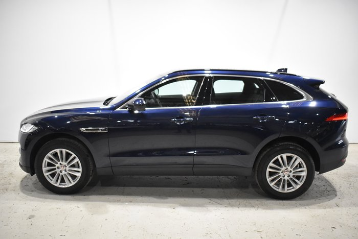 2017 Jaguar F-PACE 30d Portfolio X761 MY17 Four Wheel Drive Blue