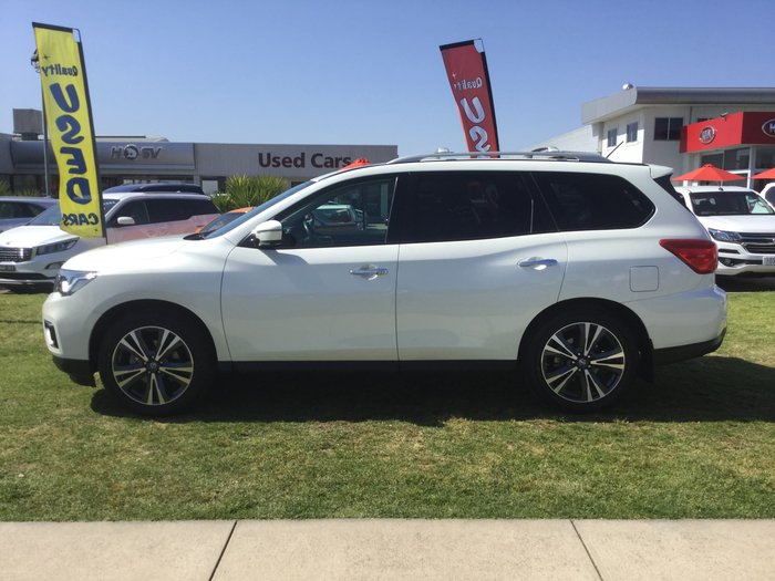 2017 Nissan Pathfinder Ti R52 Series II MY17 4X4 On Demand White