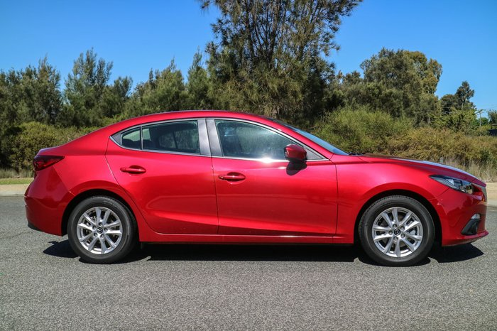 2016 Mazda 3 Touring BN Series Red