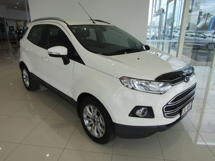 2015 Ford EcoSport TITANIUM BK Diamond White