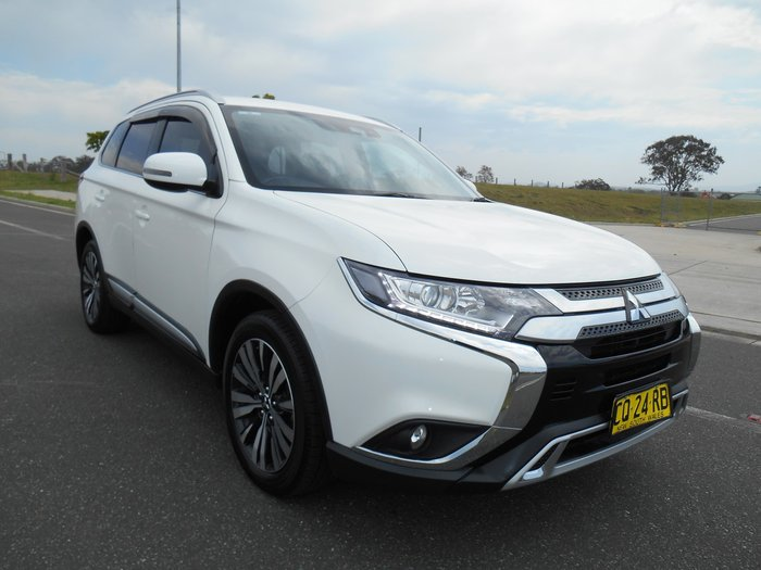 2018 Mitsubishi Outlander LS ZL MY19 4X4 On Demand White