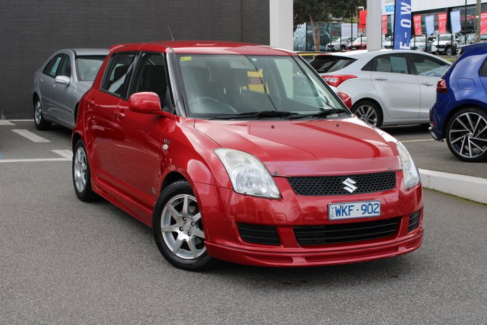 2008 Suzuki Swift RE2 RS415 Red