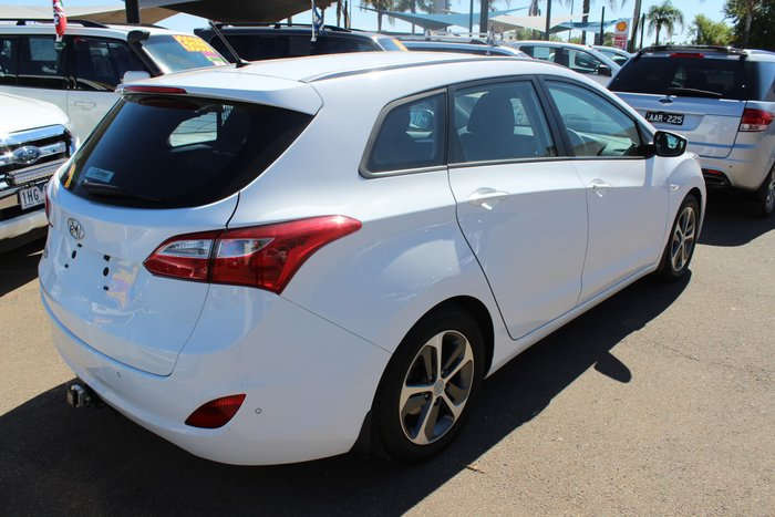 2015 Hyundai i30 Active GD White