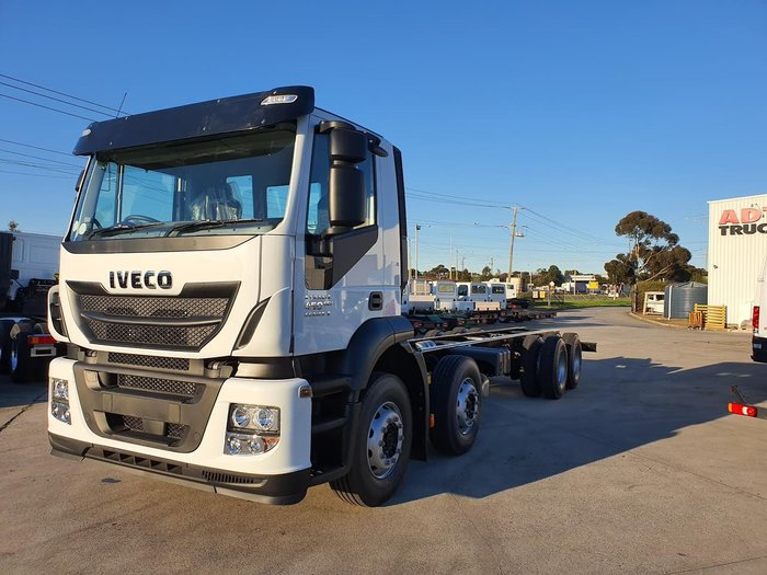 2019 IVECO STRALIS AD 8X4 450HP 16SPD AMT 6.8M - STOCK CLEARANCE null null White