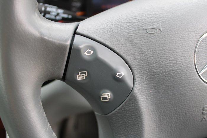 2001 Mercedes-Benz C-Class C200 Kompressor Elegance W203 Silver