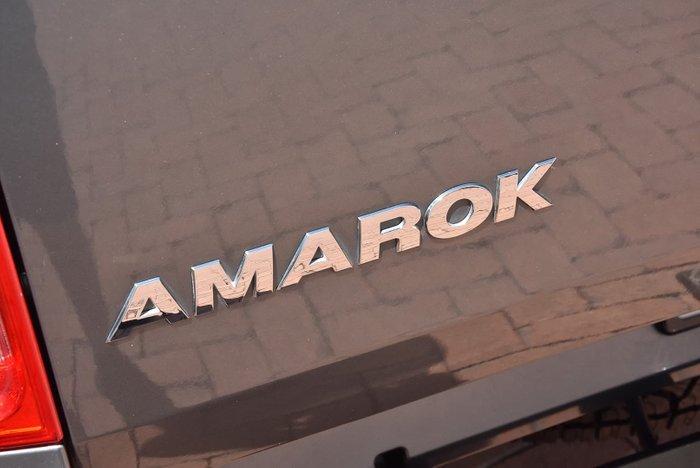 2015 Volkswagen Amarok TDI400 2H MY15 4X4 Dual Range Grey