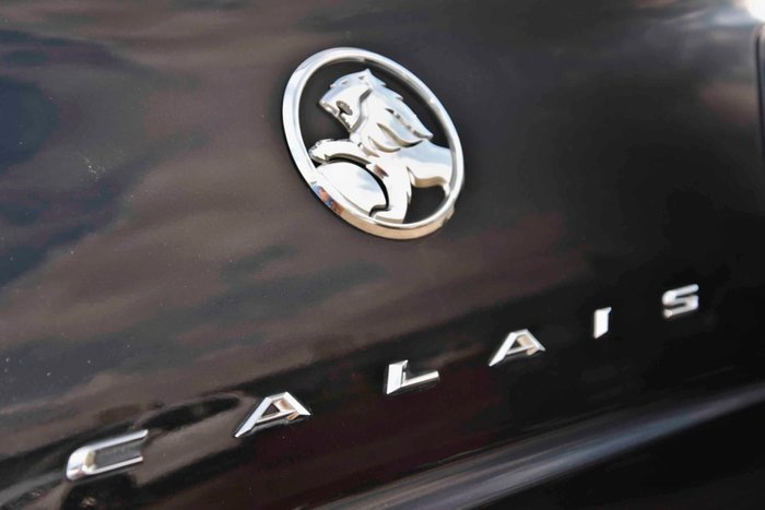 2015 Holden Calais V VF Series II MY16 Black