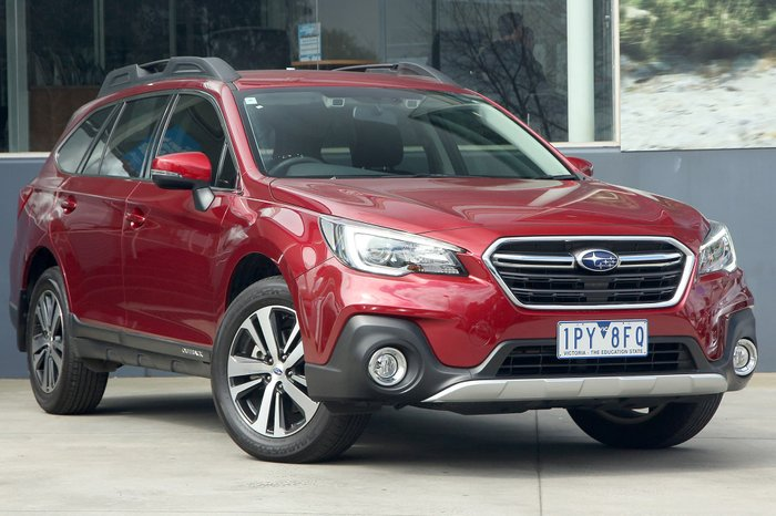 2018 Subaru Outback 2.5i 5GEN MY18 Four Wheel Drive Red