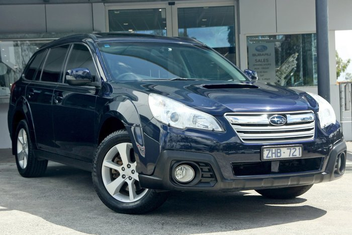 2013 Subaru Outback 2.0D Premium 4GEN MY13 Four Wheel Drive Blue