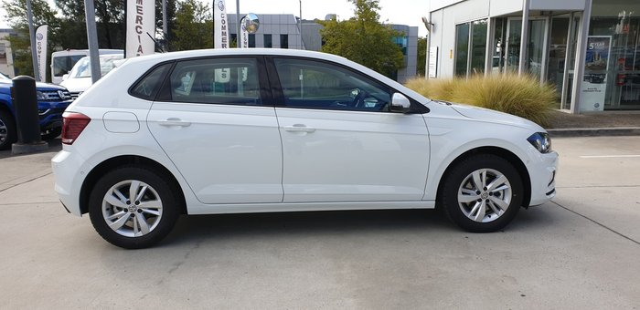 2019 Volkswagen Polo 85TSI Comfortline AW MY20 White