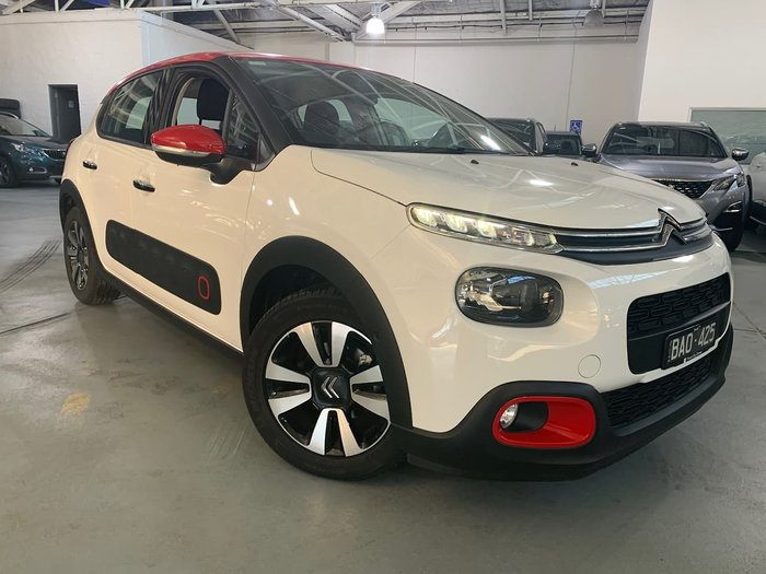 2018 Citroen C3 Shine B618 MY19 Front